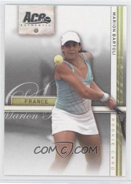 2007 Ace Authentic Straight Sets #35 - Marion Bartoli