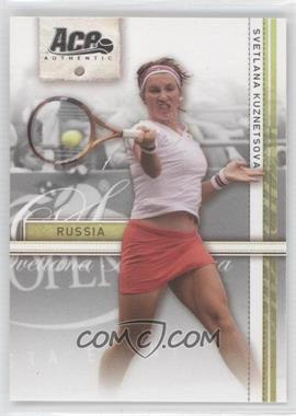 2007 Ace Authentic Straight Sets #36 - Svetlana Kuznetsova
