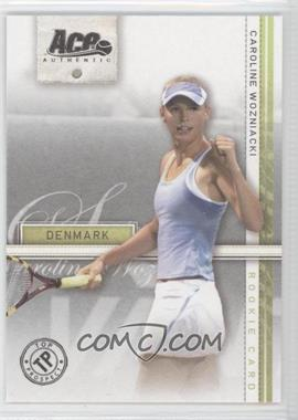 2007 Ace Authentic Straight Sets #39 - Caroline Wozniacki