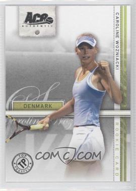 2007 Ace Authentic Straight Sets #39 - Caroline Wozniacki