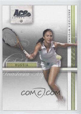 2007 Ace Authentic Straight Sets #4 - Anastasia Myskina
