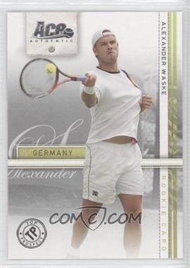 2007 Ace Authentic Straight Sets #40 - Alexander Waske