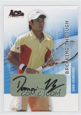 2008 Ace Authentic Grand Slam Breaking Through Autographs Bronze #BT28 - [Missing]