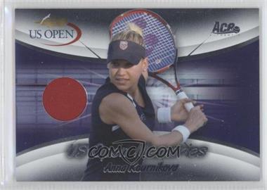 2008 Ace Authentic Grand Slam II - US Open Memories - Materials [Memorabilia] #USOM-10 - Anna Kournikova