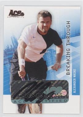 2008 Ace Authentic Grand Slam II Breaking Through Autographs Bronze #BT21 - [Missing]