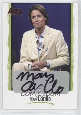 2008 Ace Authentic Grand Slam II Legends Autographs Bronze #L3 - Mary Carillo