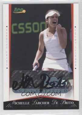 2008 Ace Authentic Matchpoint - [Base] - Autographs [Autographed] #37 - Michelle Larcher De Brito