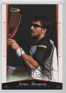 2008 Ace Authentic Matchpoint - [Base] - Autographs [Autographed] #51 - Janko Tipsarevic