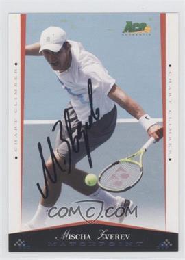 2008 Ace Authentic Matchpoint Autographs Gold [Autographed] #63 - Muscha Everev /25