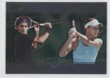 2008 Ace Authentic Matchpoint Dual #D6 - Roger Federer, Ana Ivanovic