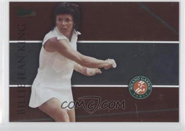 2008 Ace Authentic Matchpoint French Open Foil #RG12 - Billie Jean King
