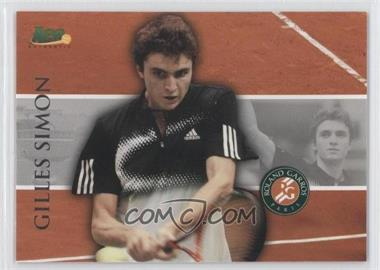2008 Ace Authentic Matchpoint French Open #RG16 - Gilles Simon
