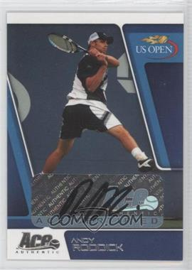 2008 Ace Authentic US Open Autographs [Autographed] #US 9 - Andy Roddick /79