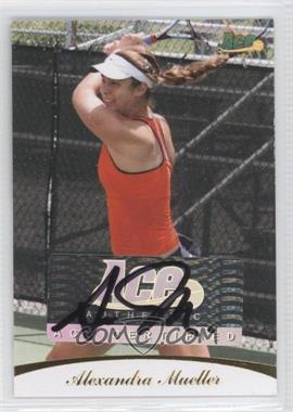 2010 Ace Authentic Autographs Gold #65 - Alexandra Mueller /19
