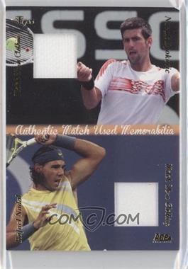 2012 Ace Authentic Grand Slam 3 - Match Used Clothing Dual #DMS3 - Novak Djokovic, Rafael Nadal