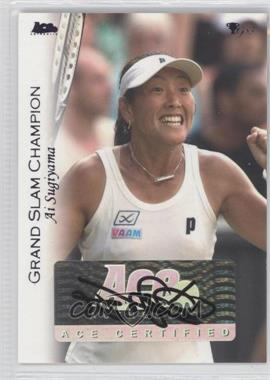 2012 Ace Authentic Grand Slam 3 Blue Foil #50 - Ai Sugiyama