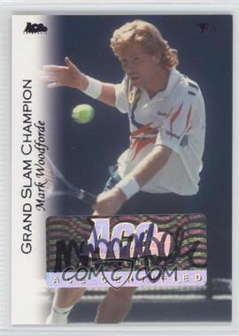 2012 Ace Authentic Grand Slam 3 Blue Foil #52 - Mark Woodforde