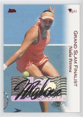 2012 Ace Authentic Grand Slam 3 Red Foil #3 - Nadia Petrova