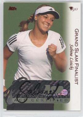 2012 Ace Authentic Grand Slam 3 Red Foil #58 - Sabine Lisicki
