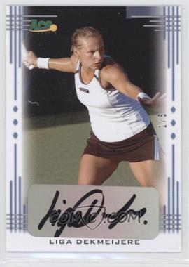 2013 Ace Authentic Signature Series - [Base] - Blue #BA-LD1 - Liga Dekmeijere /5