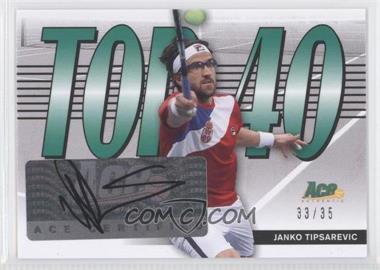 2013 Ace Authentic Signature Series - Top 40 #T40-JT1 - Janko Tipsarevic /35