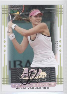 2013 Ace Authentic Signature Series Lime Green #BA-JV1 - [Missing] /10