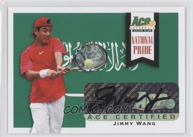 2013 Ace Authentic Signature Series National Pride #NP-2 - Jimmy Wang