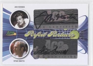 2013 Ace Authentic Signature Series Perfect Partners #PP-25 - Jan Kodes, Stan Smith