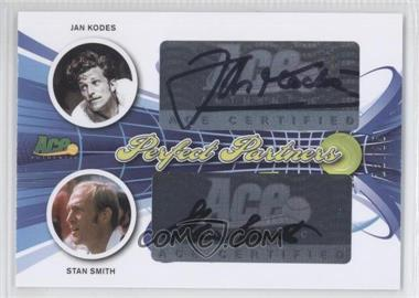 2013 Ace Authentic Signature Series Perfect Partners #PP-25 - Jan Kodes, Stan Smith /35