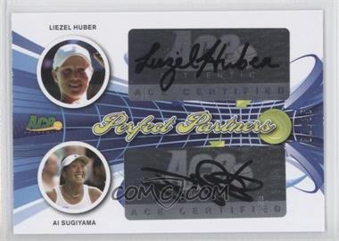 2013 Ace Authentic Signature Series Perfect Partners #PP-32 - Liezel Huber, Ai Sugiyama /35