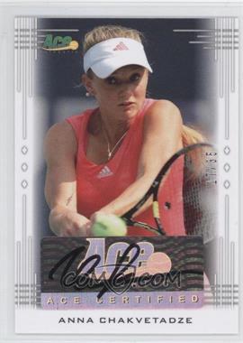 2013 Ace Authentic Signature Series #BA-AC2 - Anna Chakvetadze /35
