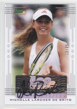 2013 Ace Authentic Signature Series #BA-MLB - Michelle Larcher De Brito /35