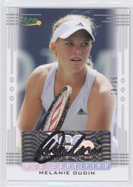 2013 Ace Authentic Signature Series #BA-MO1 - Melanie Oudin /35