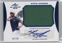 Steve Johnson #/25
