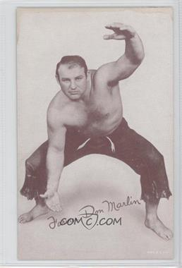 1950s Exhibit Wrestling - [Base] #DOMA - Farmer Don Marlin [GoodtoVG‑EX]