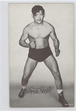 1950s Exhibit Wrestling - [Base] #PEBA - Pete Bartu [GoodtoVG‑EX]