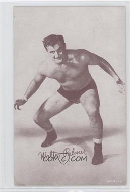 1950s Exhibit Wrestling - [Base] #WAPA - Walter Palmer [GoodtoVG‑EX]