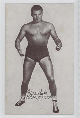 1950s Exhibit Wrestling #BIPA - Bill Parks