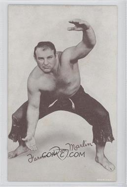 1950s Exhibit Wrestling #DOMA - Farmer Don Marlin