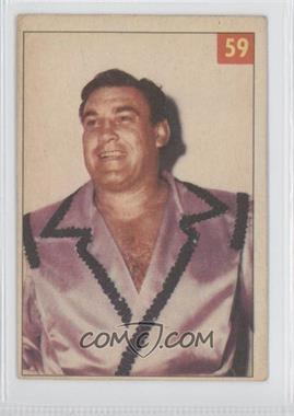 1954-55 Parkhurst Wrestling - [Base] #59 - Roberto Pico