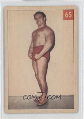 1954-55 Parkhurst Wrestling - [Base] #65 - The Mighty Atlas