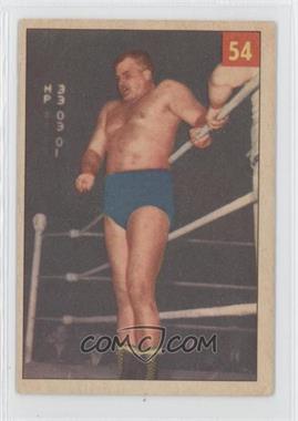 1954-55 Parkhurst Wrestling #53 - Hans Hermann
