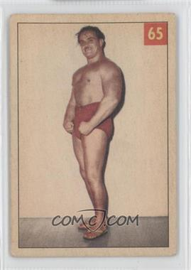 1954-55 Parkhurst Wrestling #65 - The Mighty Atlas