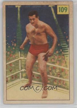 1955-56 Parkhurst Wrestling - [Base] #109 - Martin Hutzler