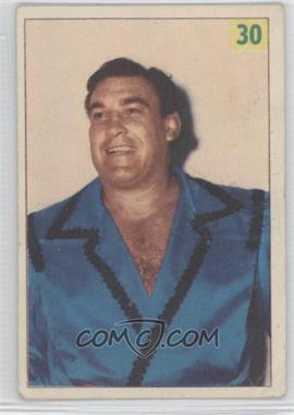 1955-56 Parkhurst Wrestling - [Base] #30 - Roberto Pico