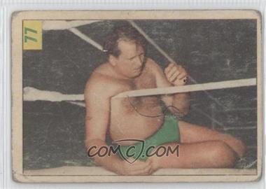 1955-56 Parkhurst Wrestling - [Base] #77 - Bill Longson