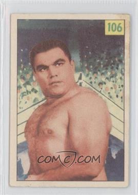 1955-56 Parkhurst Wrestling #106 - Mike Paidousis