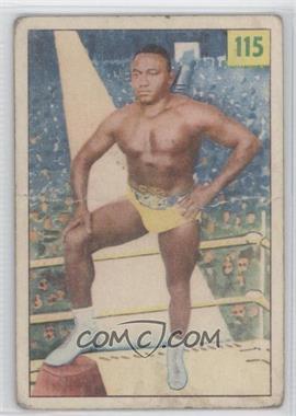 1955-56 Parkhurst Wrestling #115 - Jack Claybourne