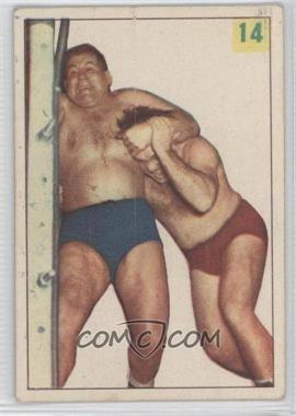 1955-56 Parkhurst Wrestling #14 - Ernie Dusek