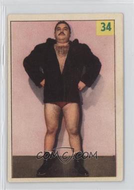1955-56 Parkhurst Wrestling #34 - Hassen Bey